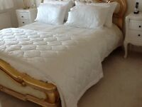 Bed throw dorma jacquard weave