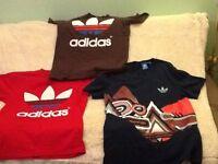 Adidas 3 shirts