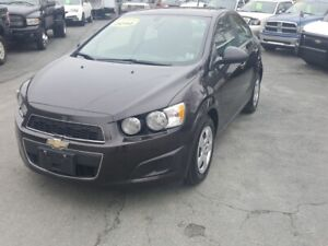 2014 Chevrolet Sonic LT Auto fresh purchase 4 door 4 cyl auto...