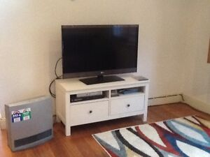 White TV cabinet  with 2 draws Daceyville Botany Bay Area Preview