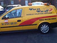 Mobile valeting van