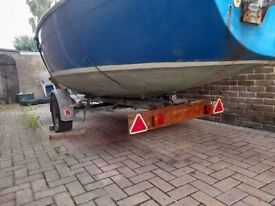 18 ft sail boat for sale
