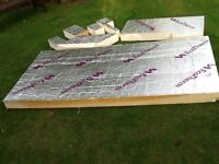 ECOTHERM INSULATION BOARD 120MM THICK.GOOD CONDITION