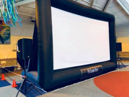 Outdoor 6m Inflatable Cinema Hire SUMMER SPECIAL