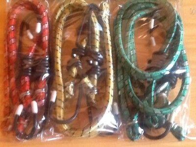 6 bungy straps