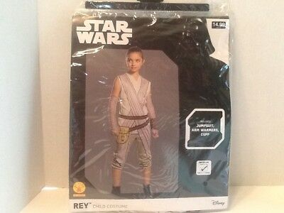 Star Wars REY Child Costume Size M (8-10) for 5-7 Years Kids Girls Disney NEW! (Star Costume For Baby)