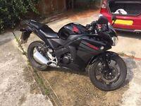 - Bargain! - LIKE NEW - 2015 Honda CBR 125 - Black - LOW MILEAGE!