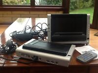 Portable DVD Player - Dual Screen by Wharfdale