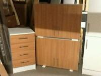 £100 - 3 fitted kitchen units - new and unused - ready built - delivery available