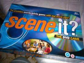 Movie scenes game