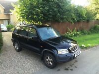 Honda CRV black 4x4 1998
