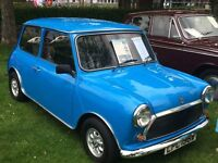 1980 Classic Austin Mini 848cc in Pageant Blue