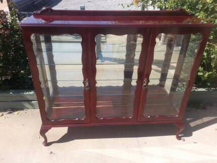 Vintage Glass China Cabinet Kadina Copper Coast Preview