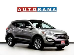 2014 Hyundai Santa Fe BACKUP CAM LEATHER PAN SUNROOF 4WD