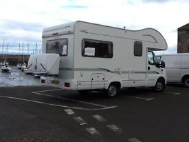 Motorhome. Bessacar E425 Year 2005 with 24,500 miles superb condition