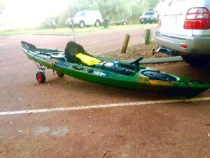 Perfect fishing kayak setup Canning Vale Canning Area Preview