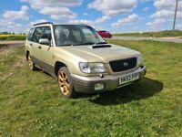 Subaru, FORESTER, Estate, 2002, Manual, 1994 (cc), 5 doors