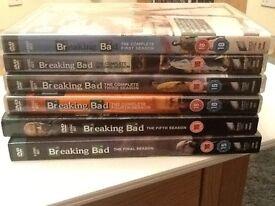 Breaking Bad DVD Series 1-6