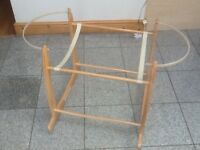 Sideways rocker stand for Moses basket-used and in excellent condition-£10