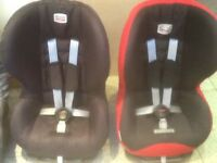 Britax Prince group 1car seat for 9mths to 4yrs-reclines,is washed&cleaned-£45 each-3 available