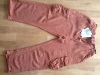 Brand New Next girls age 15 cropped trousers