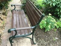 Garden Bench Cast Iron Ends
