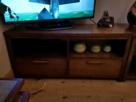 Next solid wood TV unit and side units ... £120 ono .. Pick up only Broughty Ferry