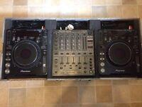 Pioneer CDJ 1000 MK3 X2 & DJM 600