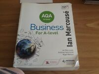AQA Business for A level book