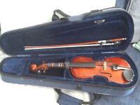 Violin, child's 1/4 size, Primavera, with case