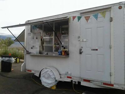 2006 - 7 X 13 Cs 14 Mobile Kitchen Unit Used Food Concession Trailer For Sal