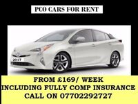 Uber Ready PCO Cars from £160 Fully Insured - Flexible Terms - TOYOTA PRIUS- All Over London