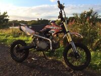 125cc Stomp off road