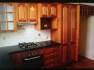 Kitchen New Guinea Oak Timber Kitchen Springfield Ipswich City Preview