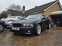 BMW e39 525D modified swap