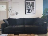 Dark Blue Habitat Sofa