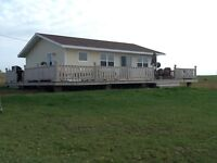 4 year old cottage in Clinton for sale. Great waterview