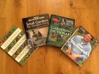 X4 HARDBACK GARDENING BOOKS, USEFUL AND PRACTICAL, COLLECTION FOR £20