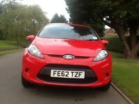 62 REG FORD FIESTA 1.4 TDCI EDGE DIESEL NEW SHAPE