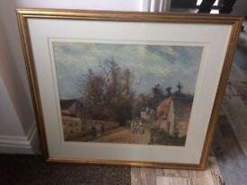Beautiful framed large prints