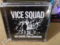 Vice Squad, CD, released on Captain Oi ! in 2000, Cat No AHOY CD 153.