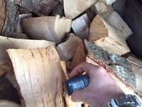 Great Quality Barn Dried Firewood Available -- Hard and Softwood