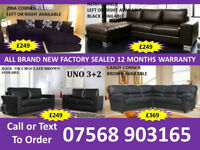 SOFA BEST OFFER BRAND NEW LEATHER SOFAS FAST DELIVERY 794