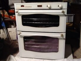 Gas double oven & Grill and separate 5 burner gas hob