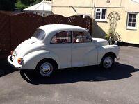 Classic Morris minor 1000 1967