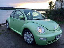 Vw Beetle Low Miles Full Service History 1 pre. Owner Cream Leather Top Spec Heated seats Air con SR