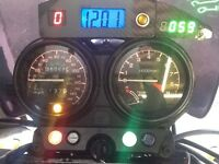 Honda ntv 650 k reg 1993 v twin very good condition many new parts