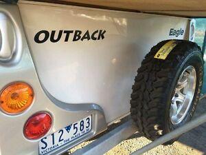 2007 Jayco Eagle Outback Trailer Caravan Free Fridge Webber BBQ Langwarrin South Frankston Area Preview