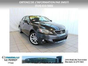 2011 Lexus IS 250 AWD GARANTIE PROLONGÉE LEXUS