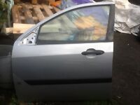Ford Focus LX front passenger door in silver